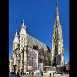 Photo taken at Stephansdom   St. Stephen's Cathedral by Cesar P. on 4/16/2013