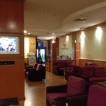 Photo taken at Malaysia Airlines Golden Lounge by Ismail S. on 12/2/2012