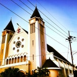 Photo taken at Gereja Katolik St. Maria Bunda Karmel (Ijen) by Benedicta V. on 7/6/2013