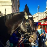 Photo taken at London 2012 Horse Guards Parade by Andrea L. on 10/28/2014