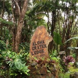 Photo taken at Aloha Crater Lodge by Jen B. on 1/2/2015