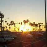 Photo taken at Huntington Beach Bike Trail & Boardwalk by Richard V. on 9/7/2013
