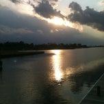 Photo taken at Prien Lake Park by Leon P. on 11/5/2012