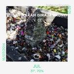 Photo taken at Kubah Makam Diraja Brunei by Azran Malda A. on 7/16/2014