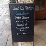 Photo taken at Forest Spa Boutique by Forest Spa Boutique on 1/23/2014