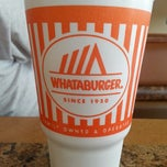 Photo taken at Whataburger by Jennifer C. on 2/17/2014
