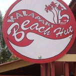 Photo taken at Kalapaki Beach Hut Burgers by Nick O. on 2/6/2013