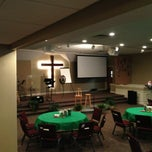 Photo taken at Lawrence Wesleyan Church by Danny S. on 9/15/2013