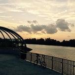 Photo taken at Jewel Bridge by Rick on 1/18/2015