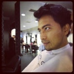 Photo taken at Infinity Hair Salon by Nabel T. on 12/27/2012