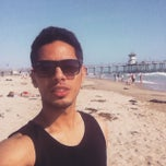 Photo taken at Huntington Beach Beach Volleyball Courts by fahad f. on 5/12/2015