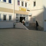 Photo taken at Antalya Gazi Anadolu Lisesi by Beste C. on 11/1/2013