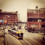 Photo taken at Warehouse District/Hennepin Ave LRT Station by Kelly D. on 11/5/2012