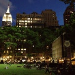 Photo taken at Bryant Park by Kathlyn A. on 6/12/2013