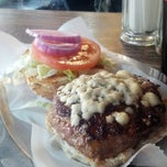 Photo taken at Black Iron Burger by Michael M. on 3/29/2013