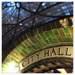 Photo taken at MTA Subway - Brooklyn Bridge/City Hall/Chambers St (J/Z/4/5/6) by Claire F. on 9/29/2012