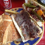 Photo taken at Hamburguesas al Carbón Emilio's by cliic on 1/18/2013