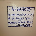 Photo taken at armandos mexican food by Grant W. on 4/12/2014