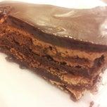 Photo taken at O Melhor Bolo de Chocolate do Mundo by Jenny C. on 5/18/2013
