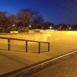 Photo taken at Wilson Skate Park by Steve H. on 1/19/2013