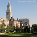 Photo taken at The Rose Kennedy Greenway by Alfredo R. on 7/25/2013