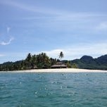 Photo taken at Koh Mook Sivalai Beach Resort by Yok S. on 5/4/2013