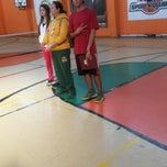 Photo taken at Zehra Gürbüz Spor Salonu by Ege K. on 2/17/2014
