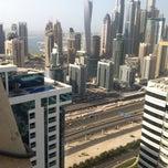 Photo taken at Pool @ Dubai Gate 1 by Nataliia Z. on 8/25/2014