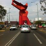 Photo taken at Glorieta Nezahualcoyotl by Sandrine B. on 3/11/2012