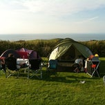 Photo taken at Damage Barton Camping and Caravanning Club Site by Sarah H. on 7/21/2012