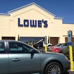 Photo taken at Lowe's Home Improvement by Dave T. on 5/3/2012