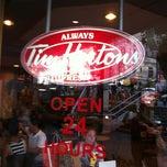 Photo taken at Tim Hortons by Suzana F. on 7/10/2012
