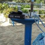 Photo taken at Villa Rosa - Bar Beach & Restaurant by Maurizio M. on 8/30/2012
