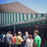 Photo taken at Café Du Monde by Molly B. on 4/14/2013