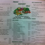 Photo taken at Fresh Harvest Deli by Jessica B. on 2/1/2013