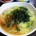 Photo taken at 명동칼국수 by 재환(James) 정. on 10/17/2012