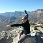 Photo taken at Turtle Head Peak by Hugh D. on 11/16/2013