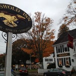 Photo taken at The Griswold Inn by Joe S. on 10/19/2012