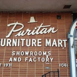 Photo taken at Puritan Furniture by Jacob S. on 11/23/2012