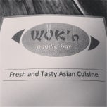 Photo taken at Wok'n Noodle by Vincent S. on 11/26/2013