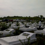 Photo taken at Catholic Cemetery Miri by Tony J. on 11/2/2012