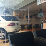 Photo taken at Mercedes-Benz of St. Clair Shores by Gie F. on 7/28/2014