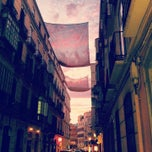Photo taken at Calle Del Duque De La Victoria by Vichy on 12/26/2012
