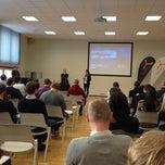 Photo taken at Tallinn Science Park Tehnopol HQ by Siim L. on 1/22/2014