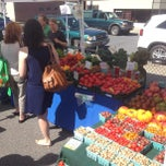 Photo taken at Hudson Farmers Market by Dave M. on 9/7/2013