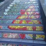 Photo taken at Hidden Garden Mosaic Steps by Bradley M. on 1/31/2015