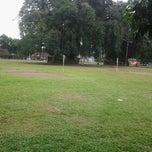 Photo taken at Alun - Alun Banjarnegara by Wewe P. on 6/12/2013