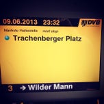 Photo taken at Trachenberger Platz by Oleg A. on 6/9/2013