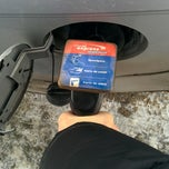Photo taken at Esso - Marché Express Rosemont by Sergey K. on 1/20/2014
