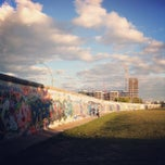 Photo taken at East Side Gallery by Qian on 9/27/2012